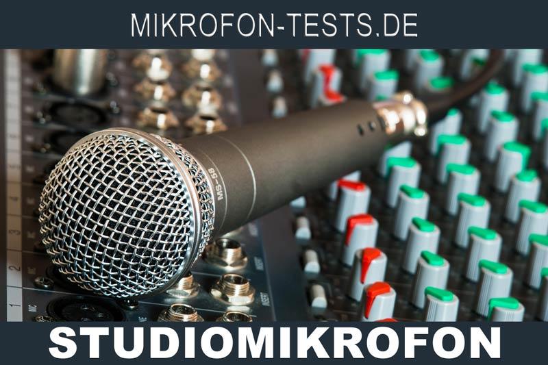 Gesangsmikrofon zum Aufnahmen am PC oder im Studio