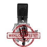 Auna-MIC900B USB Mikrofon im Test