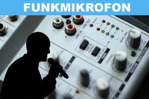 Funkmikrofon Test