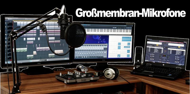 Großmembran Mikrofon
