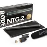 Rode NTG2 Richtmikrofon