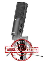 USB Mikrofon Empfehlung Rode NTUSB