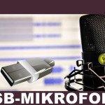 USB-Mikrofon Test und Vergleich – USB-Mikrofone online kaufen