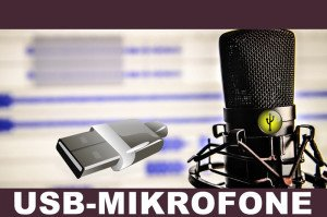 USB-Mikrofon Test