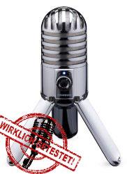 USB Mikrofon Test Samson Metor Mic auf Amazon kaufen