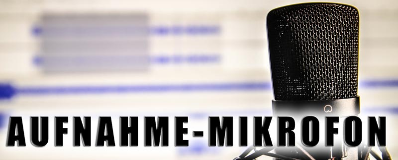 Aufnahme-Mikrofon für PC kaufen