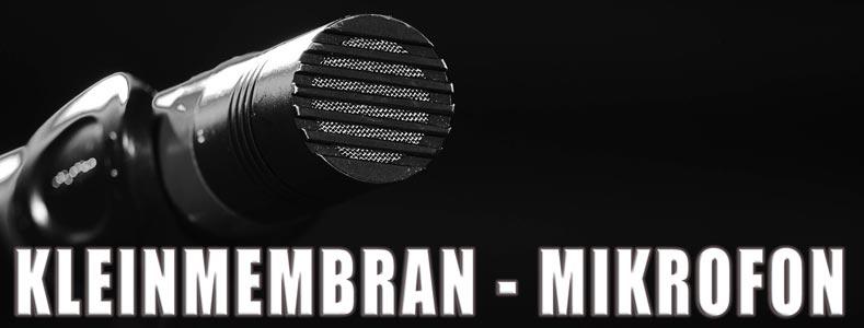 Kleinmembran-Kondensatormikrofone