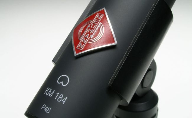 Kleinmembran Kondensatormikrofon Neumann KM 184