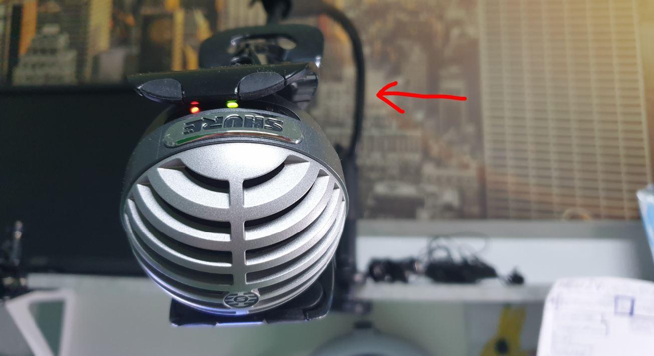 Home-Office-Mikrofon Shure MV5